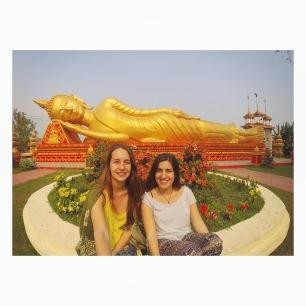 Con el Buda tumbado